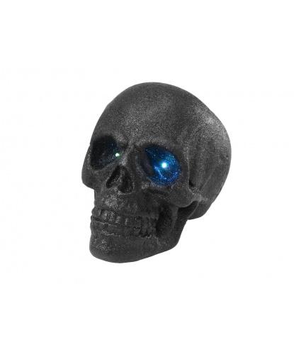 Большой блестящий череп со светодиодами