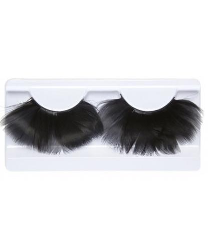 Накладные ресницы Черные перья