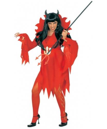 Платье дьяволицы с воротником: платье (Италия)