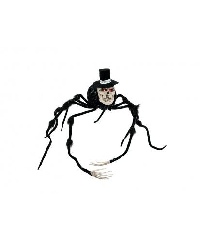 Паук с черепом