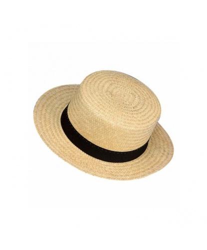 Соломенная шляпа-канотье (Италия)