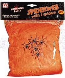 Паутина оранжевая, 100 гр., 20 м2