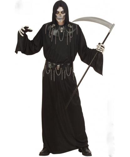 Костюм Властелина мертвых: балахон с капюшоном, пояс, воротник (Италия)