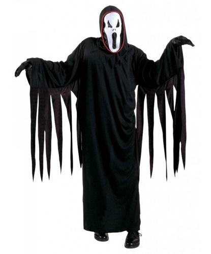 Детский костюм Крик: балахон, маска, пояс (Италия)