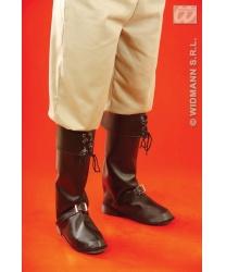 Пиратские накладки на обувь черные - Накладки на обувь, арт: 7828