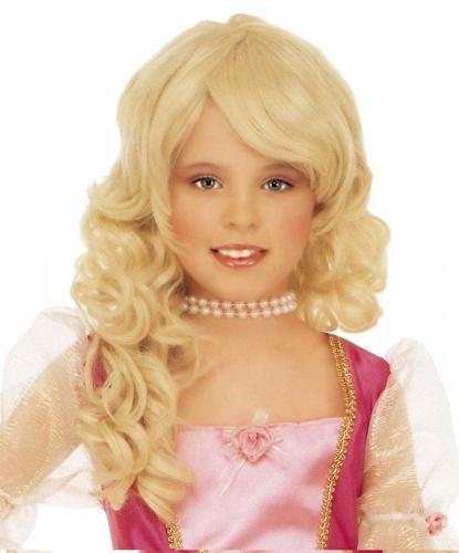 Парик блондинки для девочки:  (Италия)