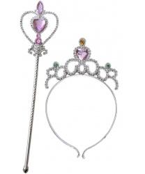 Тиара и палочка принцессы