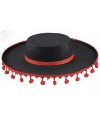 Шляпа фламенко