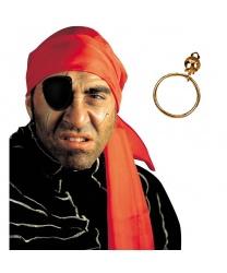 Пиратский набор (наглазник, серьга)