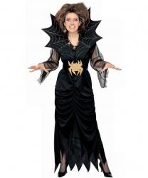 Костюм повелительницы пауков: платье, пояс (Италия)