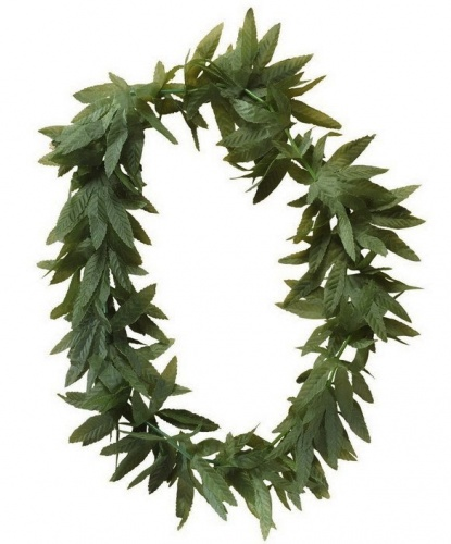 Ожерелье из зеленых листьев (Италия)