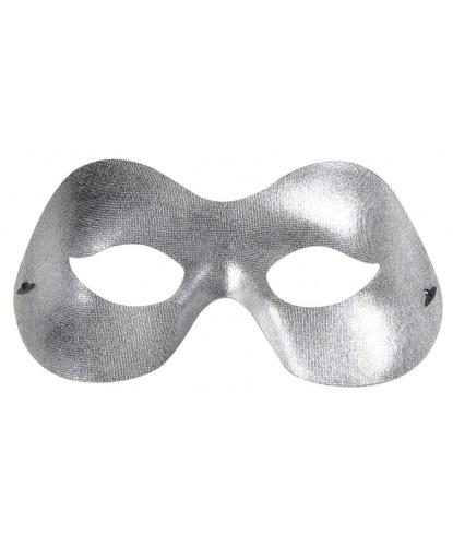 Серебряная маска, пластик (Италия)