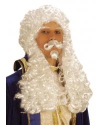 Французский парик с усами - Парики, арт: 7905
