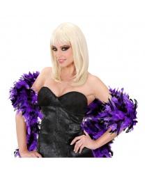 Боа фиолетовое с черным - Боа, арт: 7916