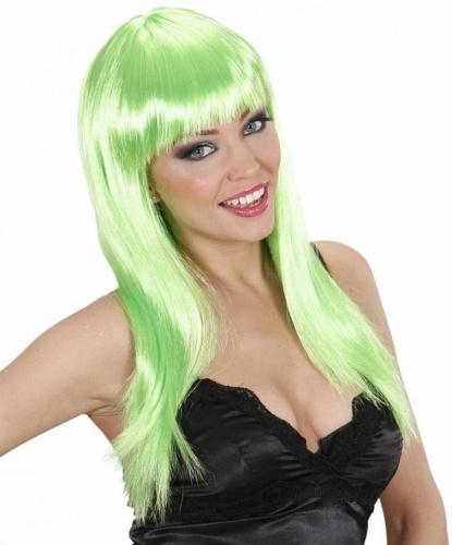 Парик с салатовыми волосами: салатовый (Италия)