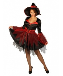 Карнавальный костюм ведьмы