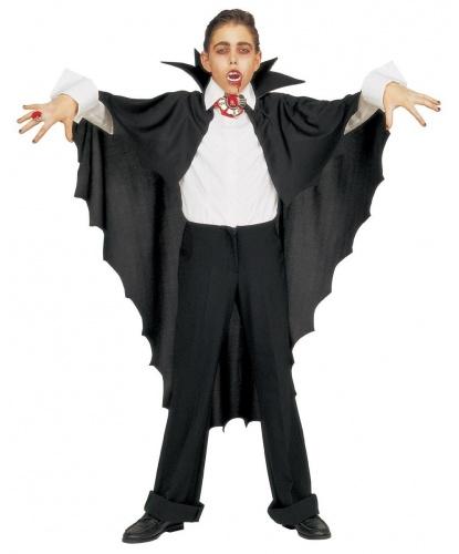 Детская накидка Дракулы: накидка с воротником (Италия)