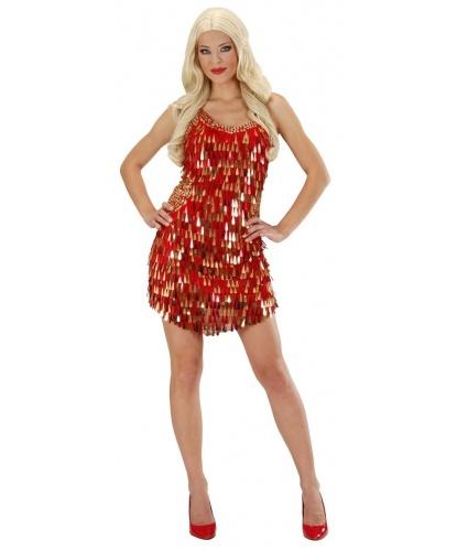 Огненное платье на Хэллоуин: платье (Италия)