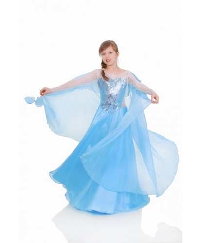 Костюм Эльзы (Холодное сердце): платье, накидка (Украина)