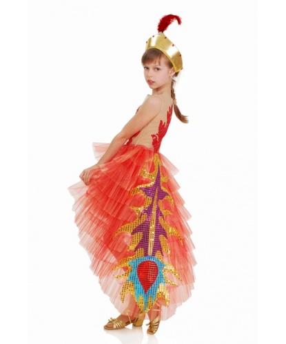 Костюм Жар-птицы: платье, корона (Украина)