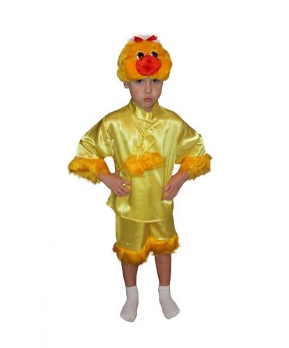 Детский костюм цыпленка : кофта, шорты, шапка (Россия)