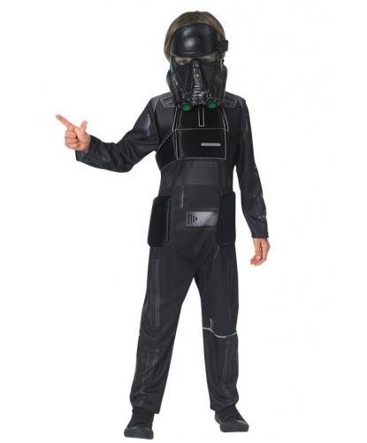 Детский костюм черного штурмовика: комбинезон, маска (Германия)