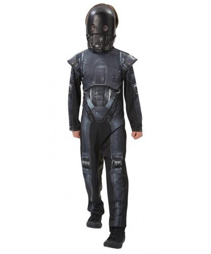 Детский костюм робота из Звездных Воин: комбинезон, маска (Германия)