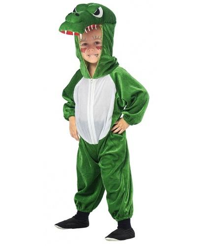 Детский костюм крокодила: комбинезон с капюшоном (Германия)