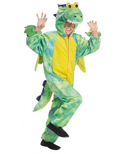 Детский костюм дракона: комбинезон с капюшоном (Германия)