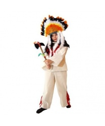 Костюм индейского мальчика : кофта, штаны (Польша)