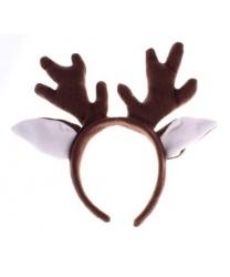 Рожки оленя на обруче - Рога, нимбы, уши, арт: 8017
