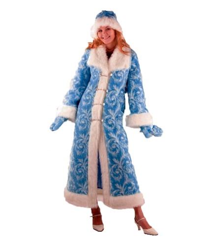 Снегурочка меховая : шуба, шапка, варежки (Россия)
