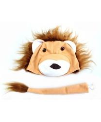 Шапочка и хвост льва