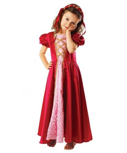 Детский костюм придворной : платье, ободок (Польша)