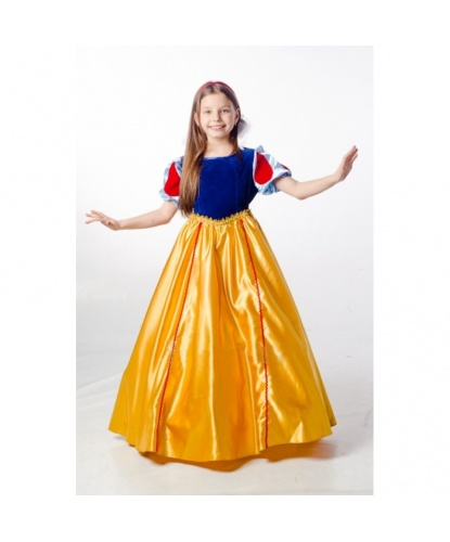 Детский костюм Белоснежки: платье (Украина)