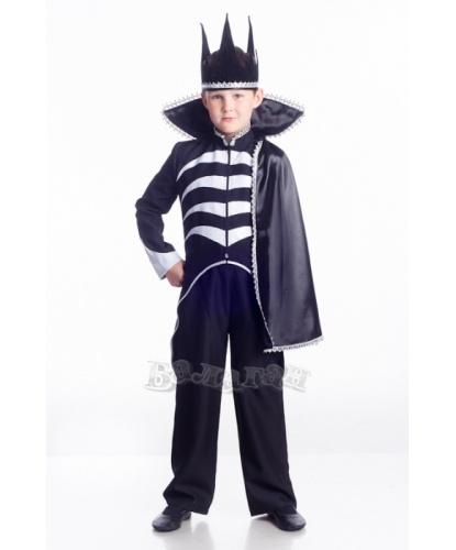 Детский костюм Кащея: брюки, фрак, корона (Украина)