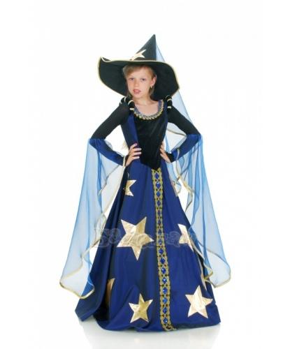 Костюм волшебницы: платье, колпак со шлейфом (Украина)