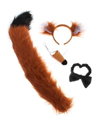 Набор Лисички - Рога, нимбы, уши, арт: 8049