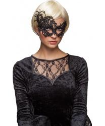 Кружевная маска с асимметричным краем