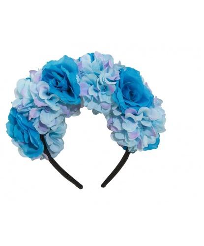 Венок с голубыми цветами (Германия)