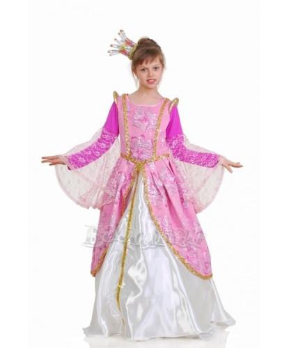 Костюм принцессы : платье, корона, кринолин (Украина)