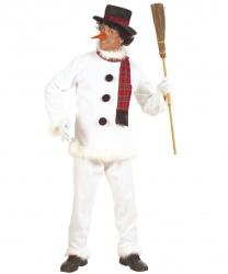 Взрослый костюм снеговика
