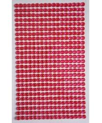 Стразы самоклеющиеся малиновые - Стразы, арт: 8098