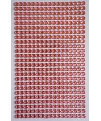 Стразы самоклеющиеся розовые - Стразы, арт: 8101