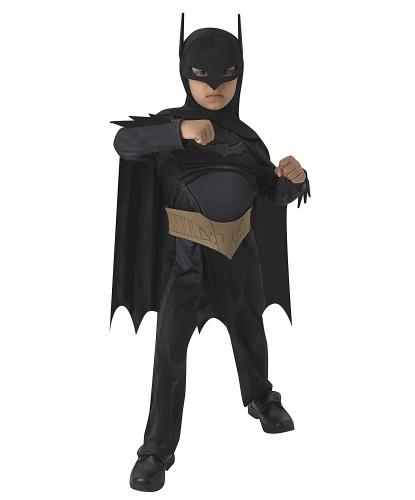 Детский костюм Бэтмена: комбинезон, маска, накидка, пояс (Германия)