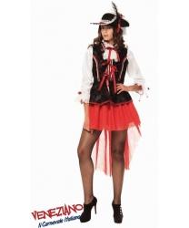 Взрослый костюм пиратки-повелительницы морей