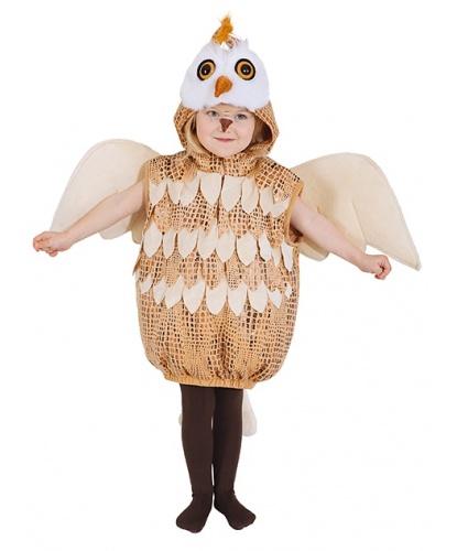 Детский костюм совы: жилетка с капюшоном, крылья (Германия)