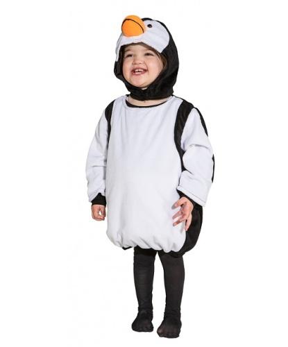 Детский костюм пингвина: кофта, головной убор (Германия)