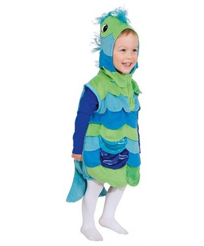 Детский костюм рыбки: жилетка с капюшоном  (Германия)