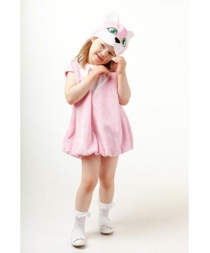 Костюм кошечки: шапочка, платье (Россия)